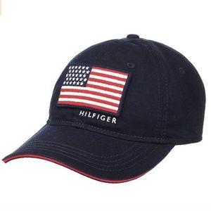 Tommy Hilfiger Men's Star and Stripes Baseball Cap